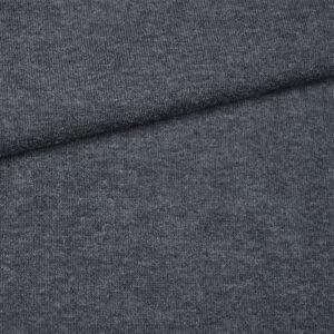 Tmavě šedý melír látka