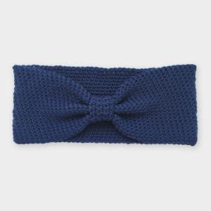 Čelenka - Tmavě modrá mašličková