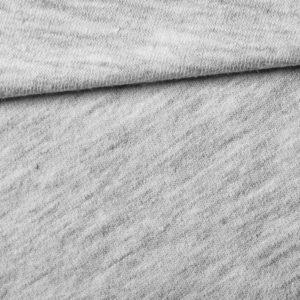 Světle šedý melír Milano látka