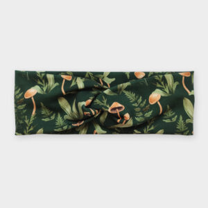 Čelenka - Forest babies zelená