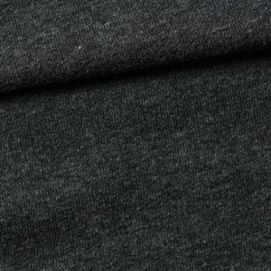 Tmavě šedý melír Milano látka