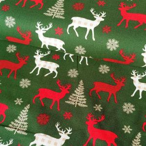 Vánoční jelení látka