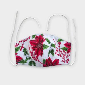 Rouška - Vánoční květy
