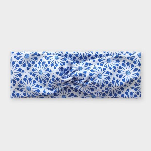 Čelenka - Mandala kytky modré