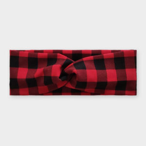 Čelenka - Červeno-černá kostka