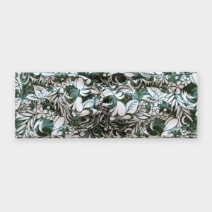 Čelenka - Flowerbed zelená