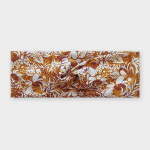 Čelenka - Flowerbed žlutá