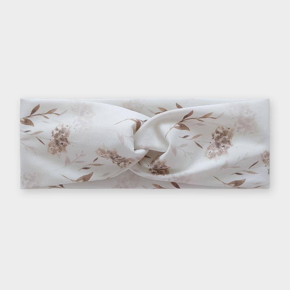 Čelenka - Květy hortensie