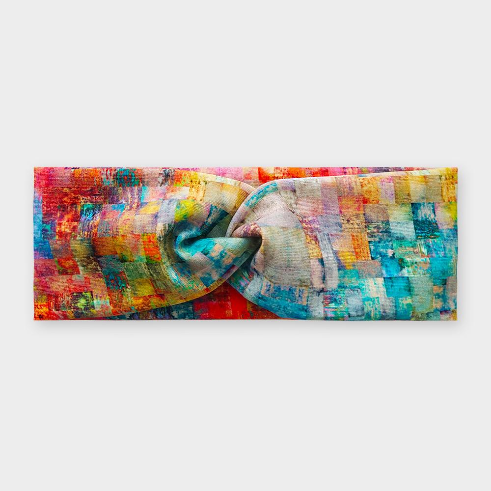 Čelenka - Barevná mozaika