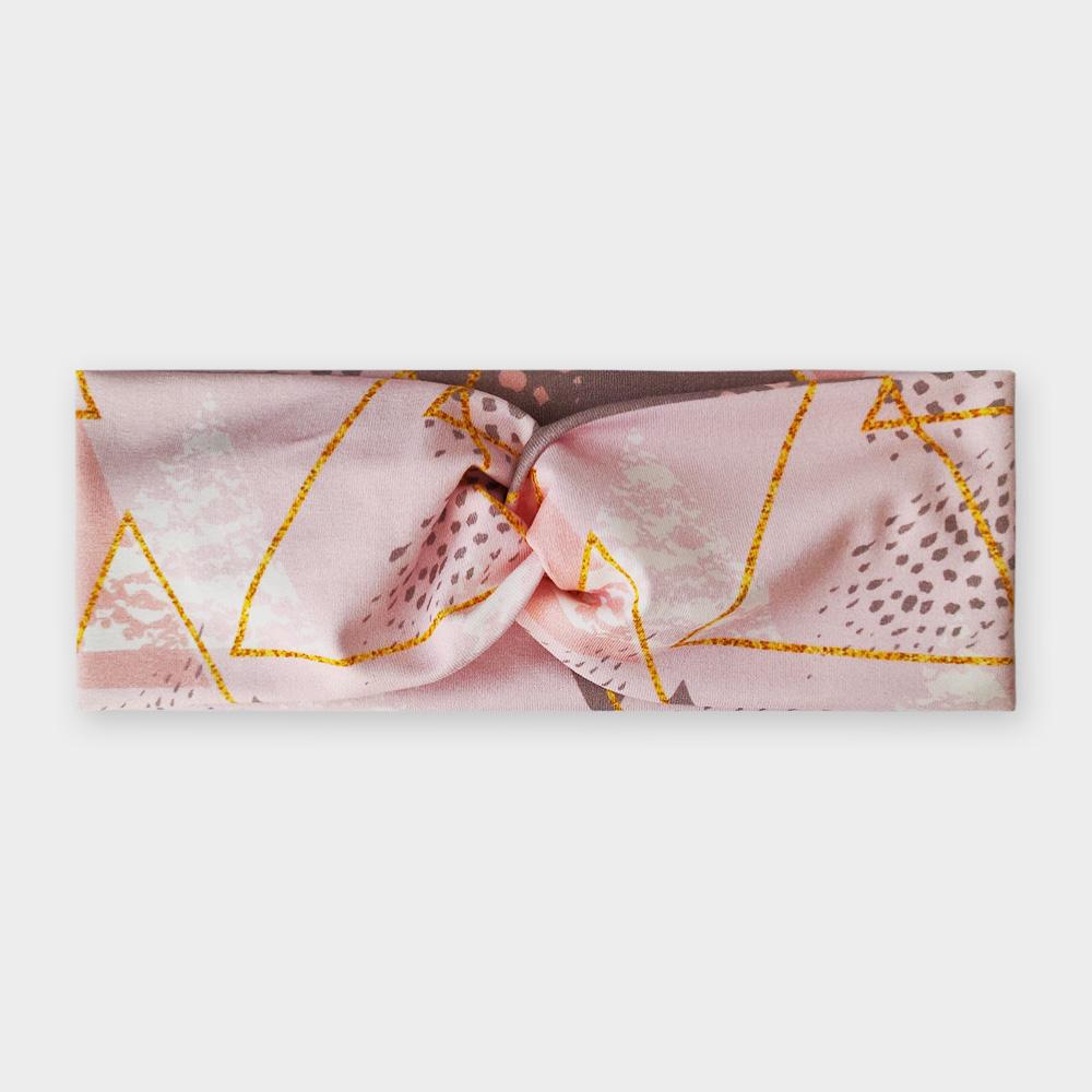 Čelenka - Zlaté trojúhelníky